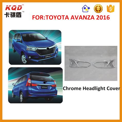 Cover Toyota Avanza china top selling products 2016 chrome car headlight cover