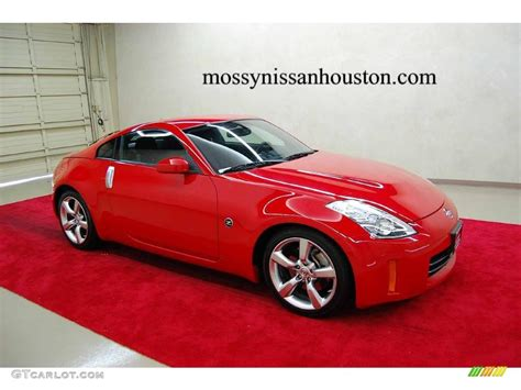 red nissan 350z 2008 nogaro red nissan 350z enthusiast coupe 1445167