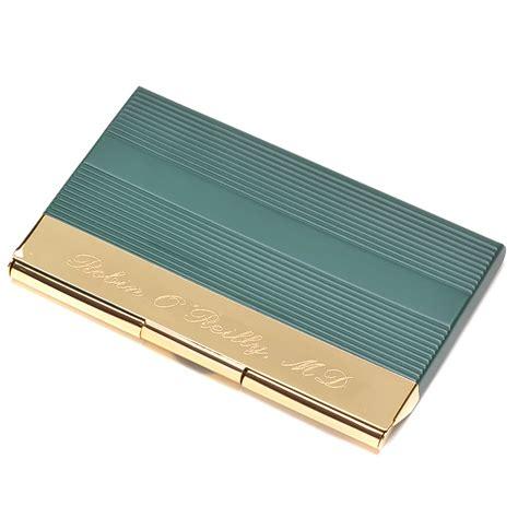 Gold Business Card Holder