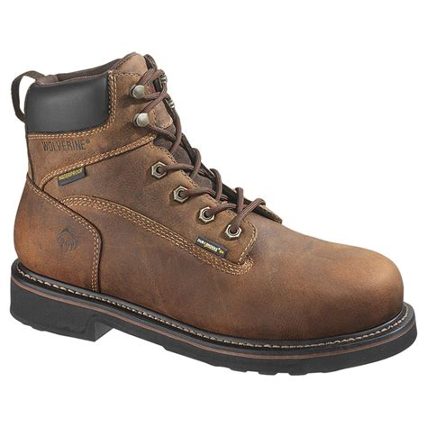 s wolverine 174 brek 6 quot steel toe electrical hazard