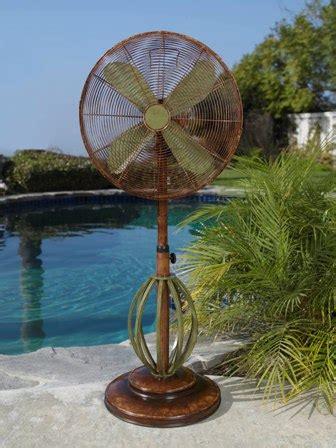 best outdoor standing fans decorative electric fans by deco floor standing