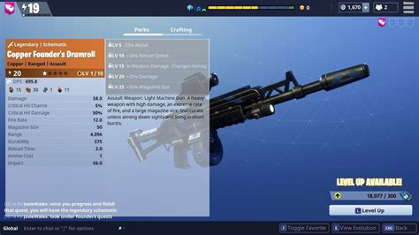 Drumroll Legendary Weapon Review and Gameplay!   Fortnite