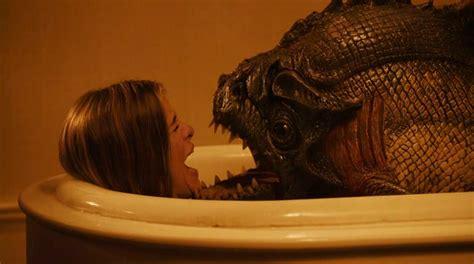 a fish in the bathtub movie piranhas bark like dogs fact fiend