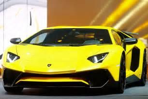 Most Expensive Lamborghini Aventador Geneva International Motor Show 2015 The New