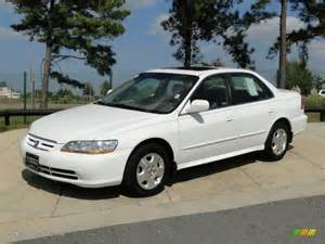 taffeta white 2002 honda accord ex v6 sedan exterior photo