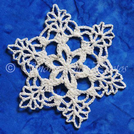 pattern snowflake crochet san luis peak snowflake crochet pinterest crochet