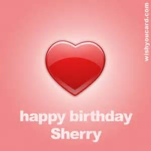 happy birthday sherry free e cards