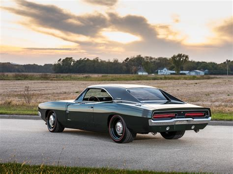 ringbrothers 1969 dodge charger restomod is an exercise in restraint automobile magazine