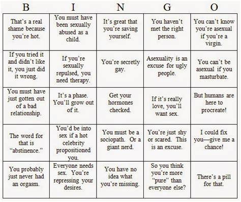 in propinquity asexual bingo on salon