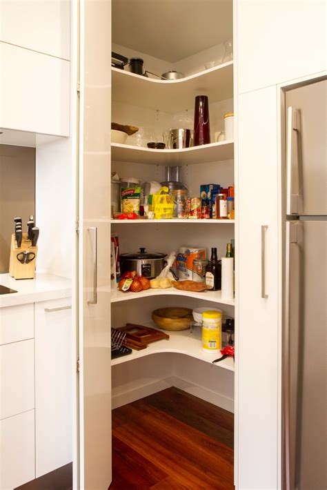 Corner Kitchen Pantry Ideas by Pantry Solutions For Every Kitchen The Kitchen Design Centre
