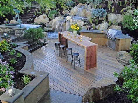 Landscape Kitchen Cheap Outdoor Kitchen Ideas Hgtv