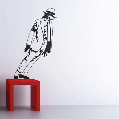 temporary wall stickers best selling 2015 michael jackson wall stickers removable vinyl wall decor wall decals