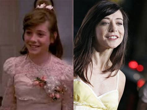 Now And Then Alyson Hannigan Goes by Will Smith And More Grown Up Child Comedy Series