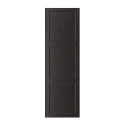besta vassbo best 197 vassbo door black brown 60x192 cm 60210830