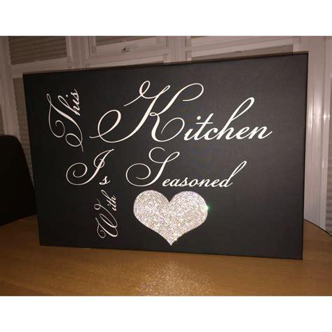 Kitchen Canvas this kitchen quote canvas
