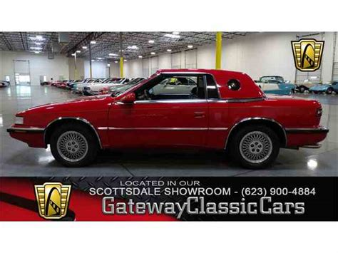 Tc By Maserati by Classic Chrysler Tc By Maserati For Sale On Classiccars