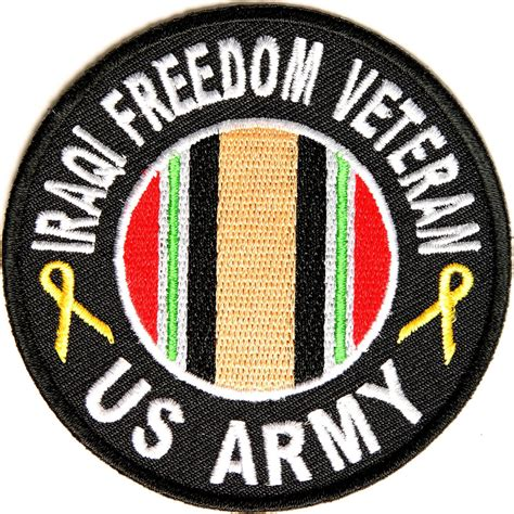 us army military unit patch iraq iraqi freedom army vet patch round iraq war patches