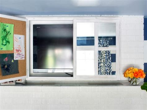 Kitchen Screen by Turn A Kitchen Cabinet Into A Flat Screen Tv Cover Hgtv