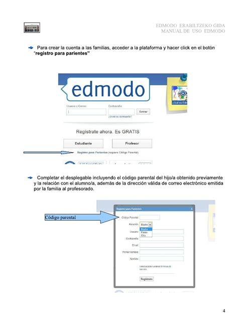 tutorial de edmodo pdf tutorial de edmodo para padres madres y tutores del alumnado