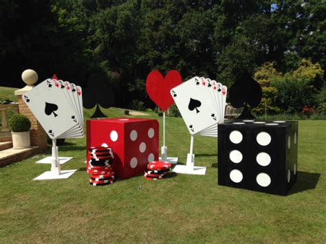 Wedding Backdrop Hire Birmingham by Prop Hire Birmingham Casino Themed Props For Your