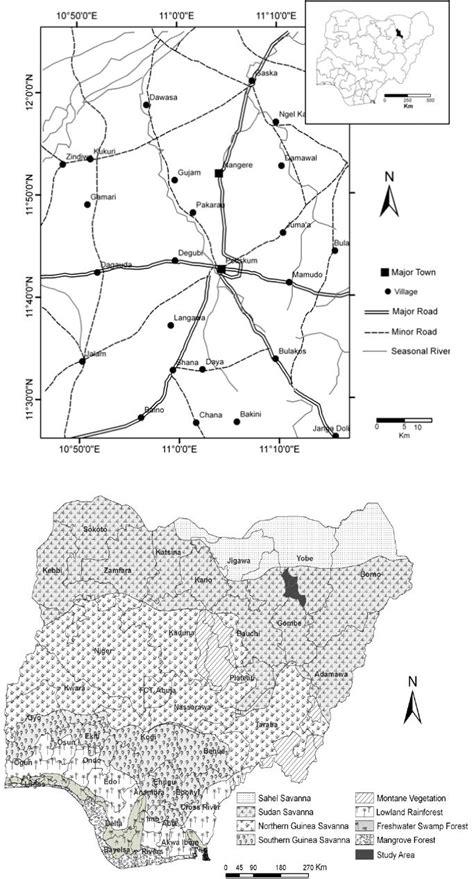 pattern analysis vegetation changing vegetation patterns in yobe state nigeria an