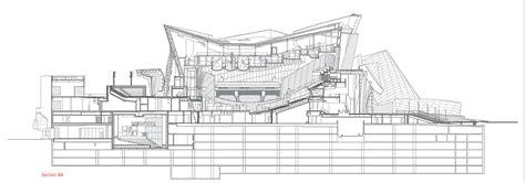 walt disney concert hall floor plan frank gehry walt disney concert hall sketches google