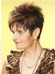 spiked hair for 60 short spikey hairstyles for women over 50