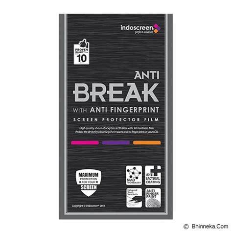 jual indoscreen anti screen protector sony xperia c5