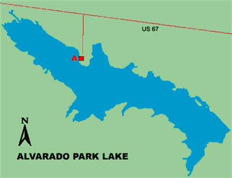where is alvarado texas on the map alvarado park lake access