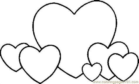 Free Coloring Pages Valentine Hearts | coloring pages hearts 04 holidays gt valentine s day