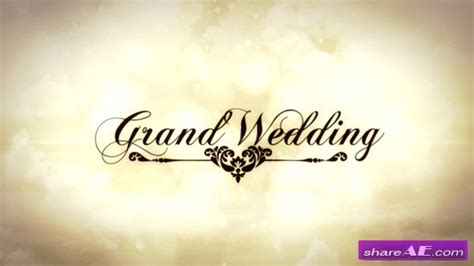 templates after effects free wedding grand wedding after effects project videohive 187 free