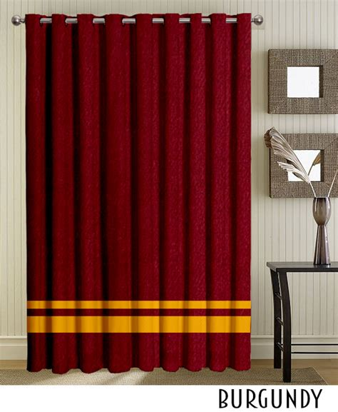 burgundy striped curtains burgundy striped top grommet curtains