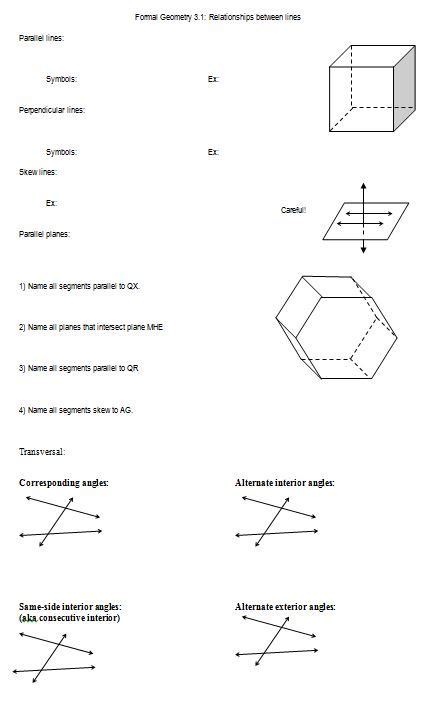 pun worksheets for middle school geometry pun best free