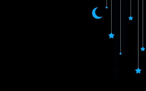wallpaper cute dark moon and stars backgrounds wallpaper cave