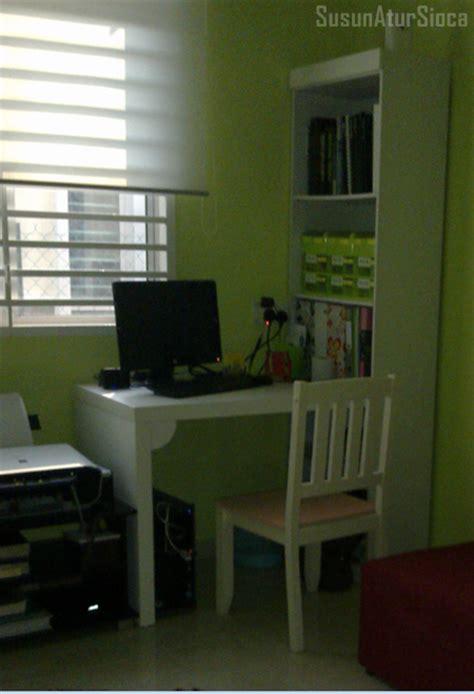 Meja Untuk Menjahit tips ruang belajar kerja yang efektif susun atur sioca