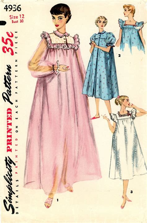 sewing pattern nightie 17 best images about nightgown town sexy sewing