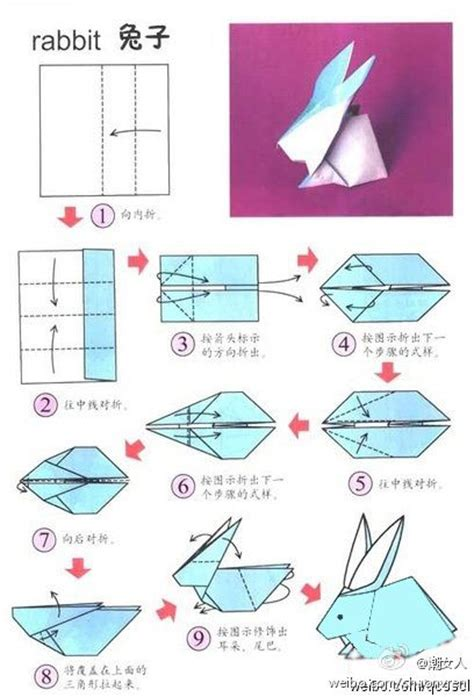 Bunny Origami - origami rabbit origami origami and rabbit