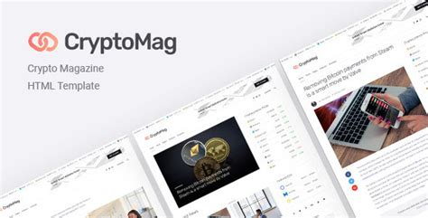 Cryptomag Cryptocurrency Magazine Html Template Download Cryptomag Cryptocurrency Magazine Cryptocurrency Html Template Free
