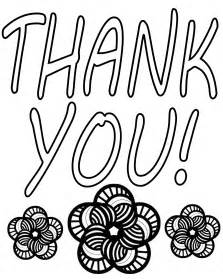 thank you coloring pages free coloring pages of saying thank you