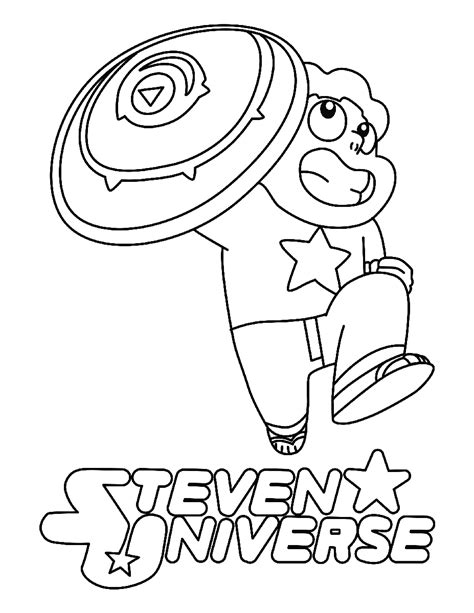 Coloring Page Universe by Steven Universe Coloring Sheet Printable