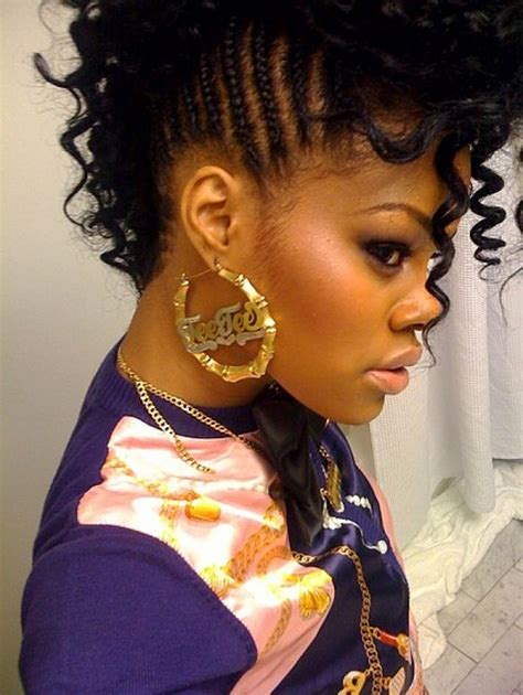texturized hairstyles for black women mohawk hairstyles for black women textured hairstyles