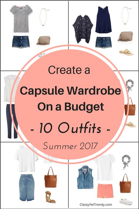 New Wardrobe On A Budget by Create A Capsule Wardrobe On A Budget 10 Summer