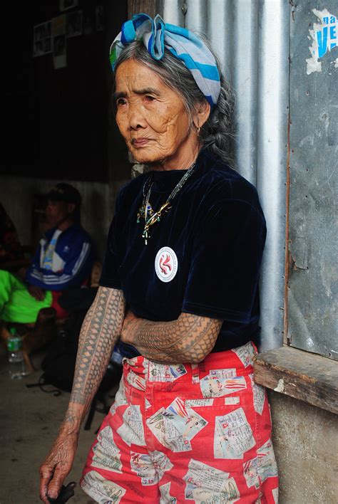 apo whang od the 95 year old tattoo artist from kalinga