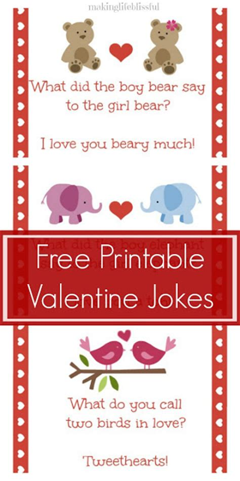 printable valentine jokes making life blissful printable valentine bingo and
