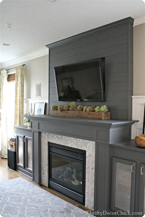 floor charcoal brick fireplace painted 17 best ideas about painted mantle on painted