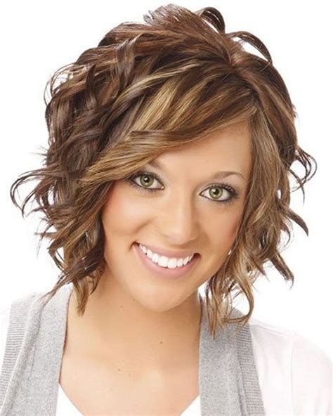 perms for round faces and fine hair over 50 2018 permed hairstyles for short hair best 32 curly