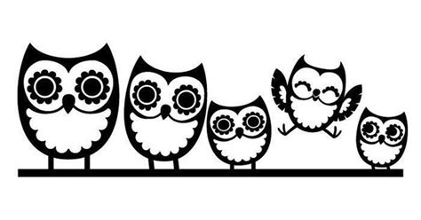 Aufkleber Kindernamen Auto by Owl Family Window Decals For Cars Car Truck Window