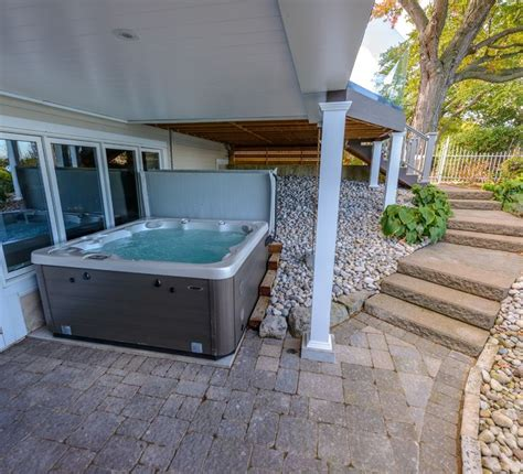 full body bathtub lounger 34 best images about hot tub install ideas on pinterest