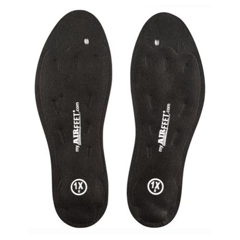 airfeet classic black shoe insoles footcare insoles