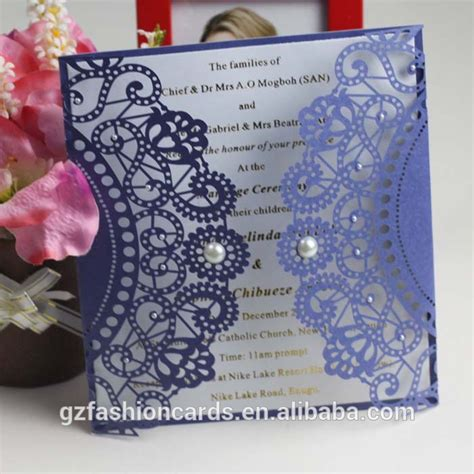 Marriage Invitation Cover by 2014 Royal Handmade Wedding Invitation Card Laser Cut